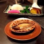 神楽坂 鉄板焼 中むら - 大きな鮑と季節の野菜!
