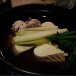 巧 - 鶏だしの湯豆腐✩︎⡱