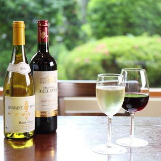 ドライバーの方も楽しめるワイン