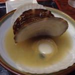 ろくさん食堂 - ホタテのお味噌汁