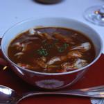 レストラン アラジン - 毛蟹のロイヤルスープ