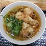 驛麺家 - (2016.2.11再訪) 鶏天うどん 530円