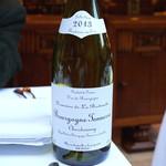 レストラン アラジン - Bourgogne Tonnerre Chardonnay 2013 Domaine de La Bretauche
