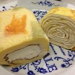 フレーバーズ - 京都の上品金箔入りロールケーキ
