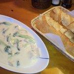 ケニーズ - 帆立とチンゲン菜のクリーム煮