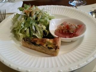 アチェーロ - 2016.2)パスタランチ(1400円)の前菜