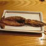 酒房あづみの - イカの丸干し        石川県産