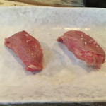 The 肉屋 - 石垣牛の炙りにぎり