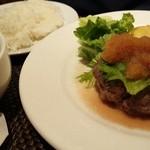 ビストロ アズーロ&ザ・バー - ランチのハンバーグ【おろしポン酢チョイス】イチオシ!