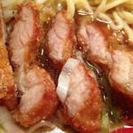 万世麺店 - パーコのアップ