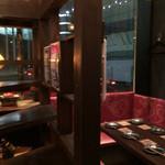 ビストロゴキゲン鳥 - テーブル席