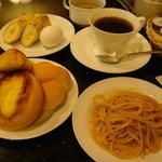 カフェ ジャンシアーヌ - 食べ放題モーニング!