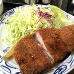 とんかつ おがわ - 料理写真:ロースカツ定食!