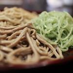 蕎仙坊 - 天ぷら付 三色そば☆