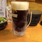 立喰酒場 金獅子 西中島南方店 - 一番搾り生ビール ハーフ&ハーフ 360円税別