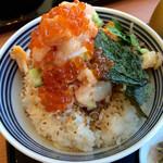 日本橋海鮮丼 つじ半 - ぜいたく丼、松
