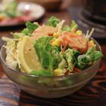 仁 - 2016年2月再訪:野菜サラダ☆