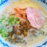 西海 稲城若葉台店 - 高菜ラーメン