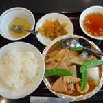麗郷 - セットメニュー(八宝菜)