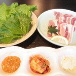 焼肉 充 - サムギョプサル