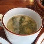 喫茶ロード - 味噌スープです