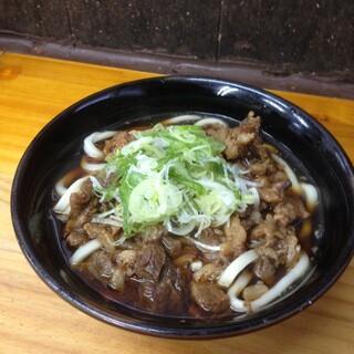今浪うどん - 肉うどん(小)(^^)