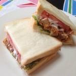 サンドイッチファクトリー・オー・シー・エム - 美味しそうでしょ(^~^)v
