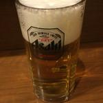 とりまさ - 生ビール480円