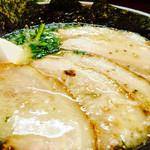 岩本屋 - チャーシューぁぷ~(´ฅω•ฅ`)チラッ
