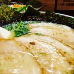 岩本屋 - 塩ラーメン ¥760-◥█◤ チャーシュー増し