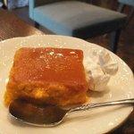 蔵カフェ - かぼちゃのプリン