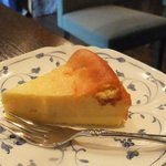蔵カフェ - 濃厚チーズケーキ