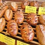 こぐまパン - 料理写真:天然酵母パン他