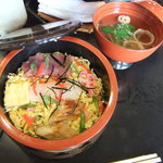4739734 - お昼のちらし寿司