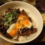 あうん屋 - 【2016年2月】温玉土手飯♪