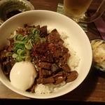あうん屋 - 【2016年2月】温玉土手飯(690円)