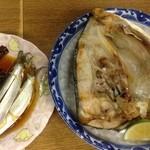 47392039 - ママカリ酢漬,カンパチ頭焼