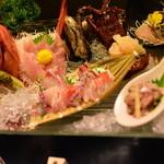 食べるお宿 浜の湯 - 季節の鮮魚 盛り込み
