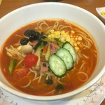 オリーブ - トマトみそスープパスタ ¥730