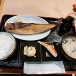 紋別 - Aランチ(ホッケ) 700円