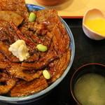 47396947 - ばら豚丼 肉大盛り 1080円+ご飯大盛り120円