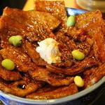 47396950 - ばら豚丼 肉大盛り 1080円+ご飯大盛り120円