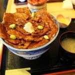 47396953 - ばら豚丼 肉大盛り 1080円+ご飯大盛り120円