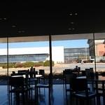 からふね屋珈琲店  - テーブルから見える外の景色