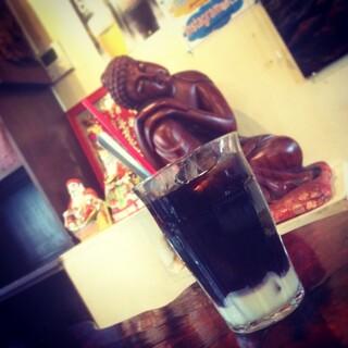 亞細亞食堂サイゴン - ベトナム練乳入りコーヒー