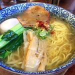 麺屋 空海 - 塩ラーメン 味玉