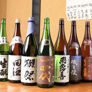 銘酒揃いの日本酒