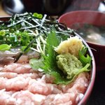 井里絵 - アジトロ丼定食(井里絵)