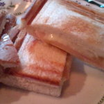 Abiantotsuto - チーズとハムのホットサンド