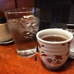 47402948 - お水とお茶を出してくれました